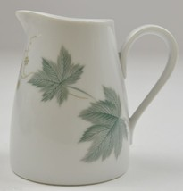 "Vintage Noritake China Creamer Pitcher Wild Ivy Pattern 3.75"" Tall Tableware Tea - $14.99"