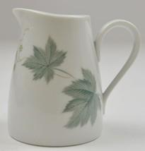 "Vintage Noritake China Creamer Pitcher Wild Ivy Pattern 3.75"" Tall Table... - $14.99"