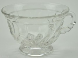 "Vintage Fostoria Glass Footed Cup Colony Pattern 2.25"" Tall Collectible ... - $8.99"