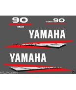 Yamaha outboard 2 Stroke 90 Hp OR 70/75/85 decals stickers set kit model... - $57.00