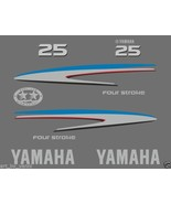 Yamaha outboard 4 Four Stroke 25 OR 30 Hp decals stickers set kit High Q... - $54.99
