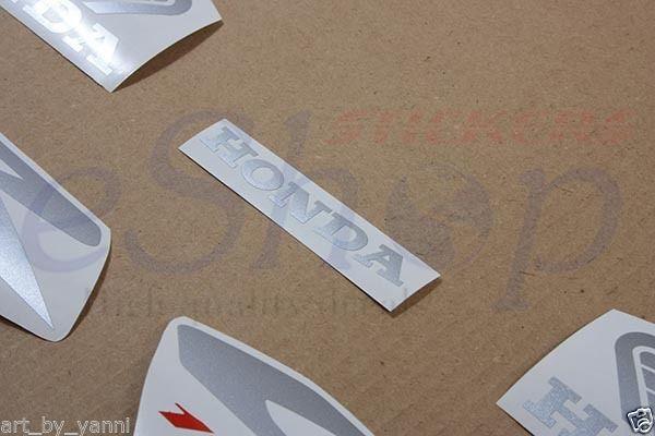 Honda CBR 1100XX complete decals stickers set kit 2000 2001 2002