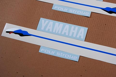 Yamaha outboard 4/ four Stroke 9 9 Hp decals and 50 similar