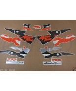 Decals set for Honda Africa Twin XRV-750 1995/96/97/98 stickers kit Blac... - $115.00