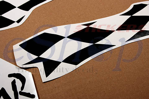 BMW F 650 GS/F650GS DAKAR 2000 Set Decal Stickers kit High Quality any Color
