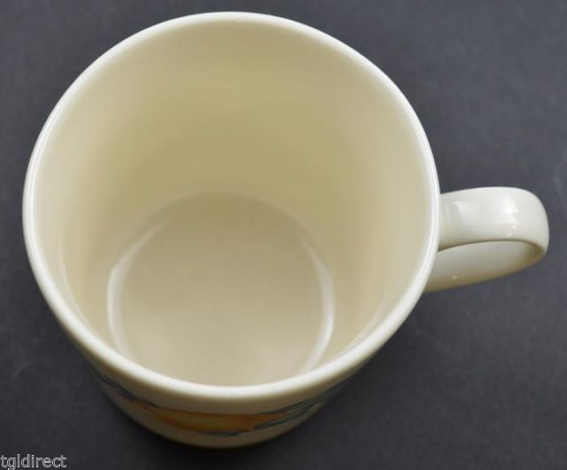 "Corelle Corning Abundance Pattern Flat Cup 3.125"" Tall Home Decor Kitchen Fruit - $6.99"