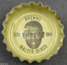 Vintage Coca Cola NFL Bottle Cap Cleveland Browns Walter Beach Coke Collectible - $4.99