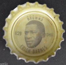 Vintage Coca Cola NFL Bottle Cap Cleveland Browns Erich Barnes Coke King... - $4.99