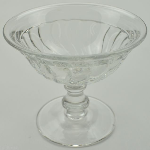 "Primary image for Fostoria Crystal Sherbet Dish Colony Pattern 3.5"" Tall Collectible Glassware"