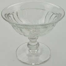 "Fostoria Crystal Sherbet Dish Colony Pattern 3.5"" Tall Collectible Glassware  - $6.99"