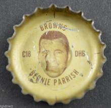 Vintage Coca Cola NFL Bottle Cap Cleveland Browns Bernie Parrish Coke Football - $4.99