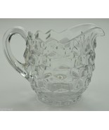"Vintage Fostoria Glass American Clear Pattern Creamer 3.75"" Crystal Coll... - $14.99"