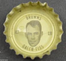 Vintage Coca Cola NFL Bottle Cap Cleveland Browns Galen Fiss Coke King Size - $4.99