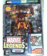 Marvel Legends Series VIII  Modern Armor  Iron Man   Action Figure  (2004) - $41.95