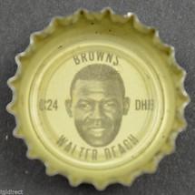Vintage Coca Cola NFL Bottle Cap Cleveland Browns Walter Beach Coke King Size - $4.99