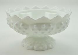 Vintage Fenton Art Glass Candle Bowl Hobnail Mi... - $17.99