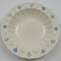 Metlox Vernon Ware True Blue Pattern Fruit / Dessert Bowl Hand Painted China - $11.99
