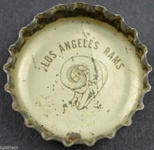 Vintage Coca Cola King Size NFL Team Bottle Cap Los Angeles Rams Coke Fo... - $6.99