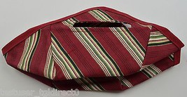 Longaberger Tinsel Basket Liner Holiday Stripe Collectible Accessory Gre... - $9.99