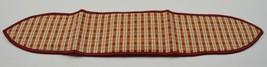 Longaberger Orchard Plaid Medium Handle Tie Acessory Collectble Fabric D... - $10.99