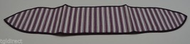 Longaberger Purple Ticking Handle Tie Collectible Accessory Fabric Home ... - $10.99
