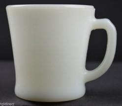"Vintage Anchor Hocking Anchorwhite Pattern Mug 3.25"" Tall Milk Glass Whi... - $8.99"