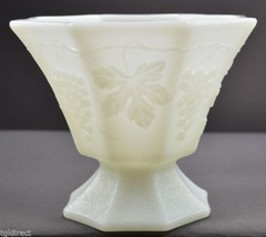 Anchor Hocking Vintage Milk Glass Open Candy Dish White Collectible Home... - $14.99