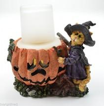 Boyds Bears Sabrina Punkinpuss Spooky Creations Resin Candle Votive Figu... - $24.99