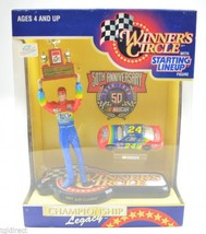 Starting Lineup Winner's Circle 50Th Anniversary 1997 Jeff Gordon Figure... - $19.99