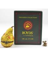 Boyds Bears Treasure Box Aubrey's Gourd Oakley McNibble Enesco Fall Autu... - $17.99