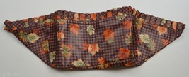 Longaberger 1997 Shades Basket Liner Gingham Collectible Accessory Fall ... - $9.99