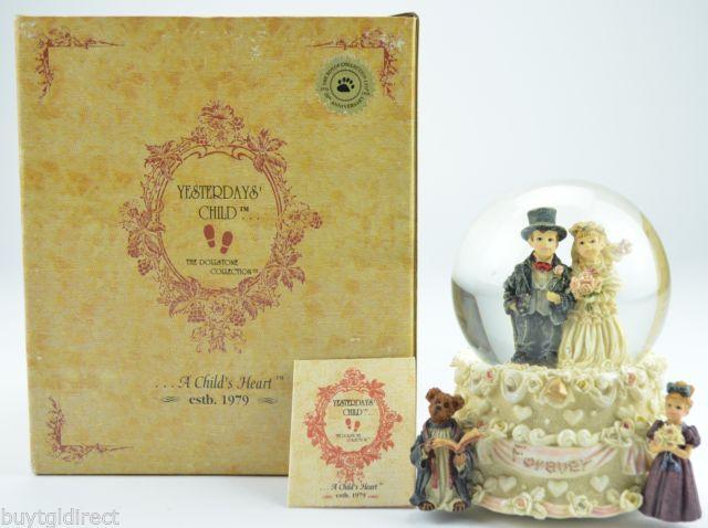 Boyds Bears Yesterdays Child Resin Music Box Handmade 1995 Collectible 2E/2409 - $29.99