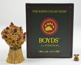 Boyds Bears Treasure Box Sunny's Stalks Corny McNibble Enesco Fall Autumn N - $19.99