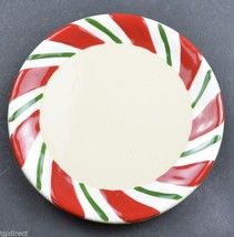 Longaberger Pottery Peppermint Twist Pattern Dr... - $22.49