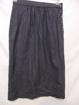 "WOOLRICH Vintage 90's Womens Straight/Pencil Skirt Sz 8 x L 30"" Plaid USA - $33.00"