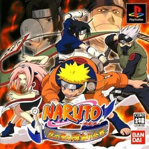 Naruto - Shinobi no Sato no Jintori Kassen, Playstation One PS1, Import Japan - $24.99