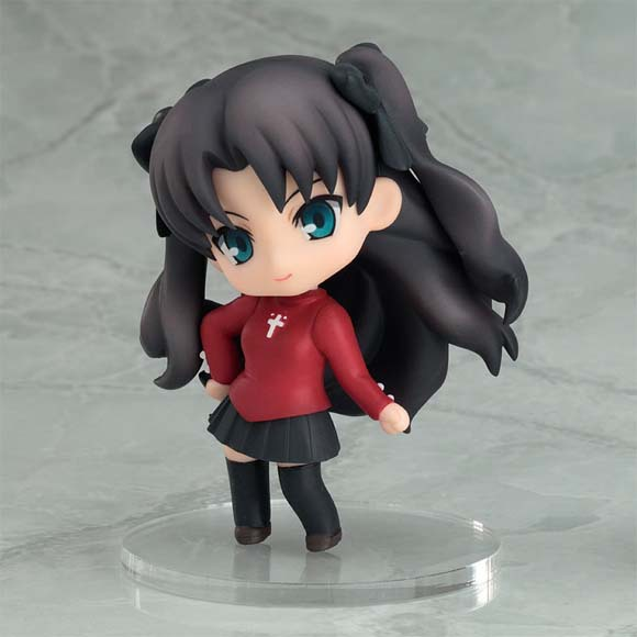 Fate/Stay Night Nendoroid Petite Rin Tousaka Mini Figure Brand NEW!