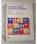 Food Service Manual for Health Care Institutions 1988 Puckett & Miller - $25.00
