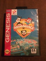 VTG Animaniacs (Sega Genesis, 1994) Rated GA Complete w/ Hang Tab Tested... - $25.99