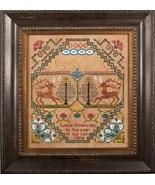 Dancing Deer cross stitch chart Cherished Stitches  - $11.70
