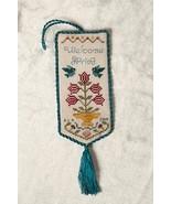 Welcome Spring cross stitch chart Cherished Stitches  - $8.10