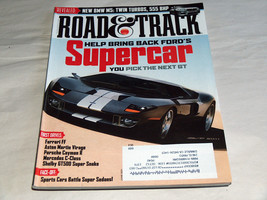 Road & Track June 2011 Car Truck Magazine Ford Blue Oval Future Supercar GT - $8.26