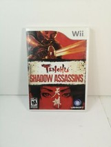Tenchu: Shadow Assassins Nintendo Wii 2009 Ubisoft Complete (M)ature havok - $12.56