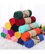 Women Fashion Elegant Long Colorful Soft Cotton Scarf Wrap Shawl Scarves... - $6.95