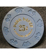 "$0.25 Casino Chip From: ""Park Tahoe Hotel & Casino"" - (sku#2220) - $10.30"