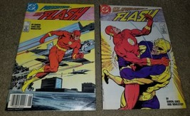 2 DC Comics Flash 1 6 Book Copper 6/1987 Newsstand UPC Variant Reverse F... - $1.99