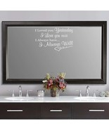 "I Loved You Yesterday Vinyl Wall Quote Sticker Decal 12.5""h x 22""w - $17.99"