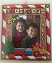 Hallmark Keepsake I Love Grandpa Photo Ornament New - $9.89