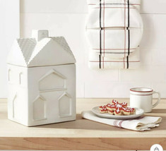 Hearth and Hand with Magnolia Stoneware House Cookie Jar Sour Cream 2020 - $44.99