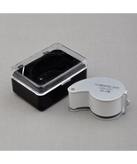 40x25mm Glass Magnifying Magnifier Jeweler Eye Jewelry Loupe Loop w/ LED... - $7.88